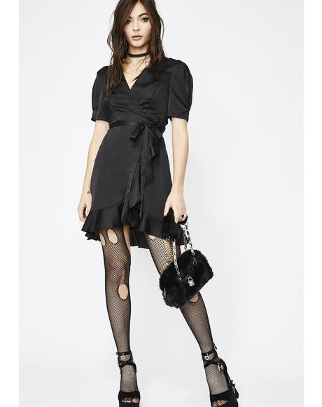 Diabolical Love's Secret Wrap Dress