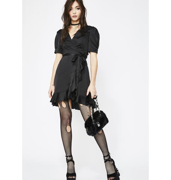 Diabolical Love's Secret Wrap Dress