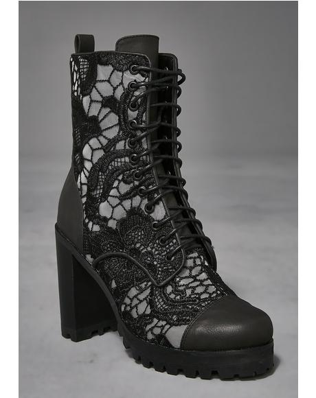 Lullaby Lace Modern Boots