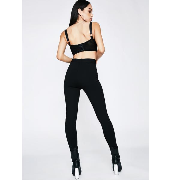 Poster Grl So Notorious Lace-Up Leggings