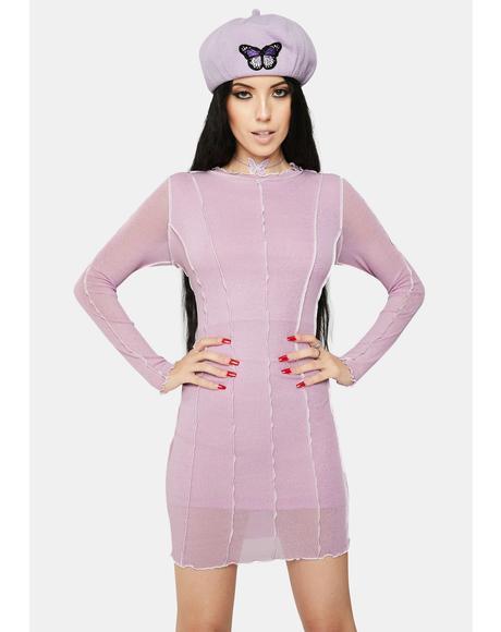 Assemble Mesh Dress