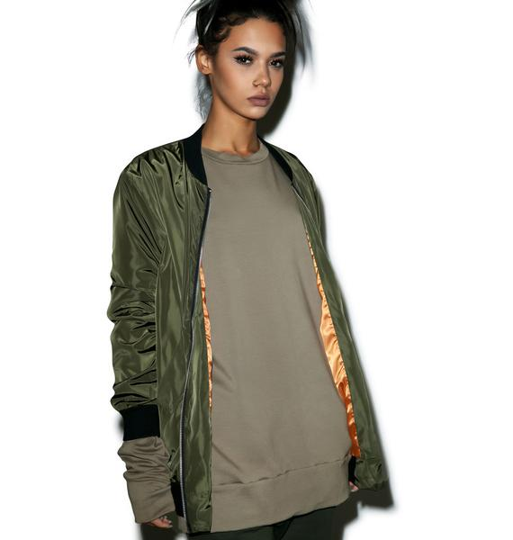 Ghost Town Bomber Jacket