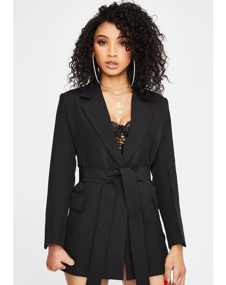 Leader Blazer Jacket Dress