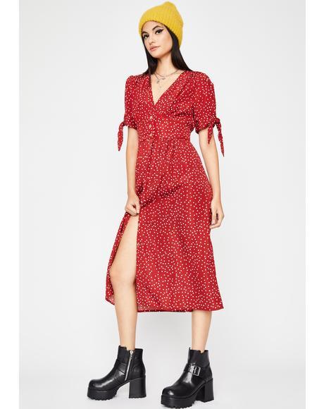 Sweet Memory Midi Dress
