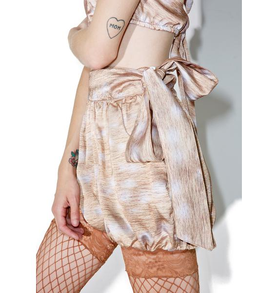 Fete Dauphine Fawn Shorty