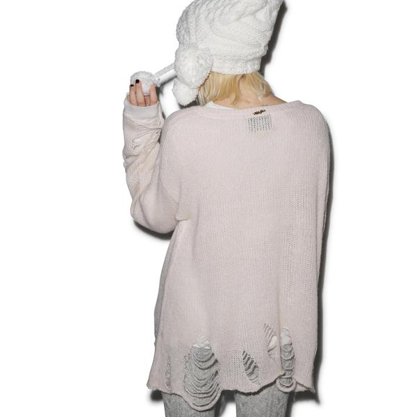 Wildfox Couture Soldier Boy Lenon Sweater
