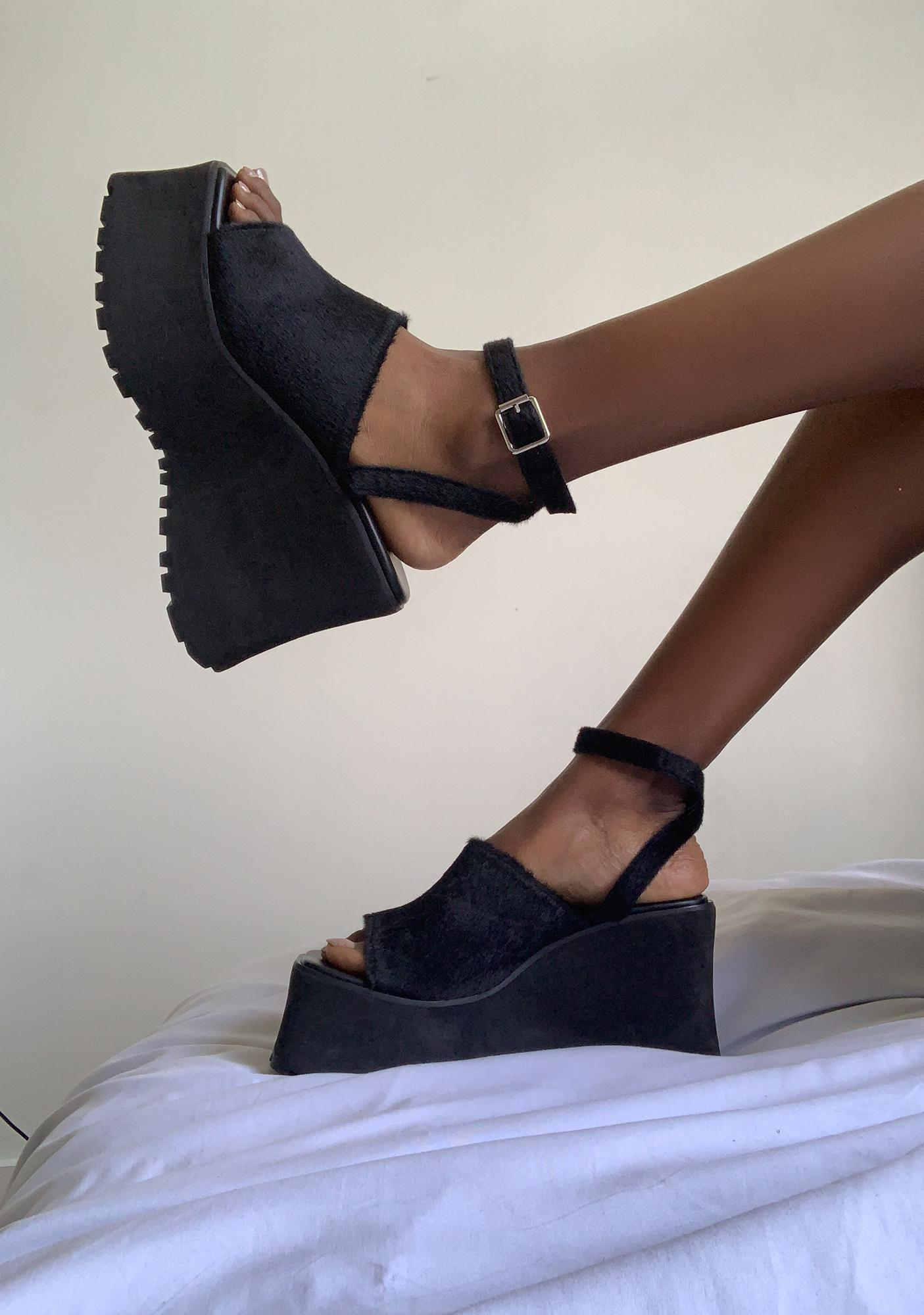 dELiA*s by Dolls Kill Ahead Of The Game Platform Sandals