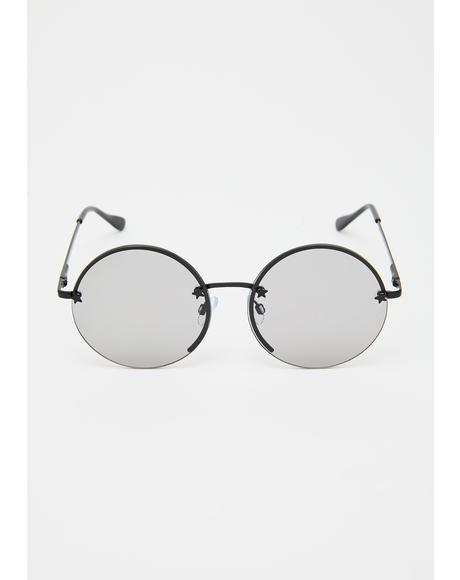 Quit Buggin' Me Round Sunglasses