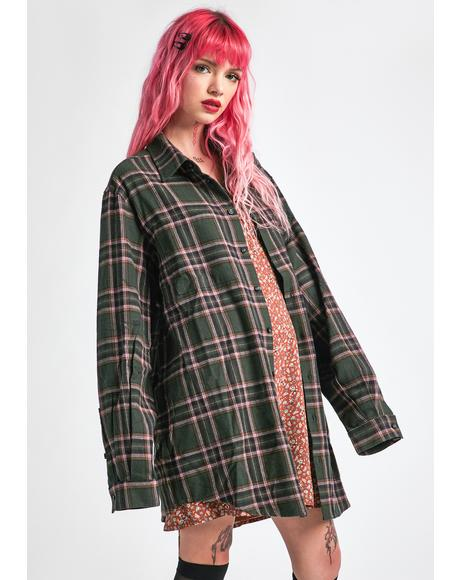 Dreaming My Dreams Flannel Shirt