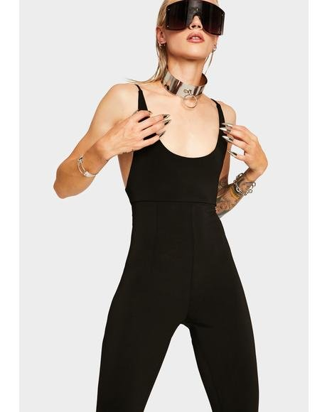 Totally Baesic Slim Catsuit
