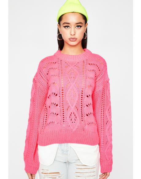 Sweet Flavor Knit Sweater