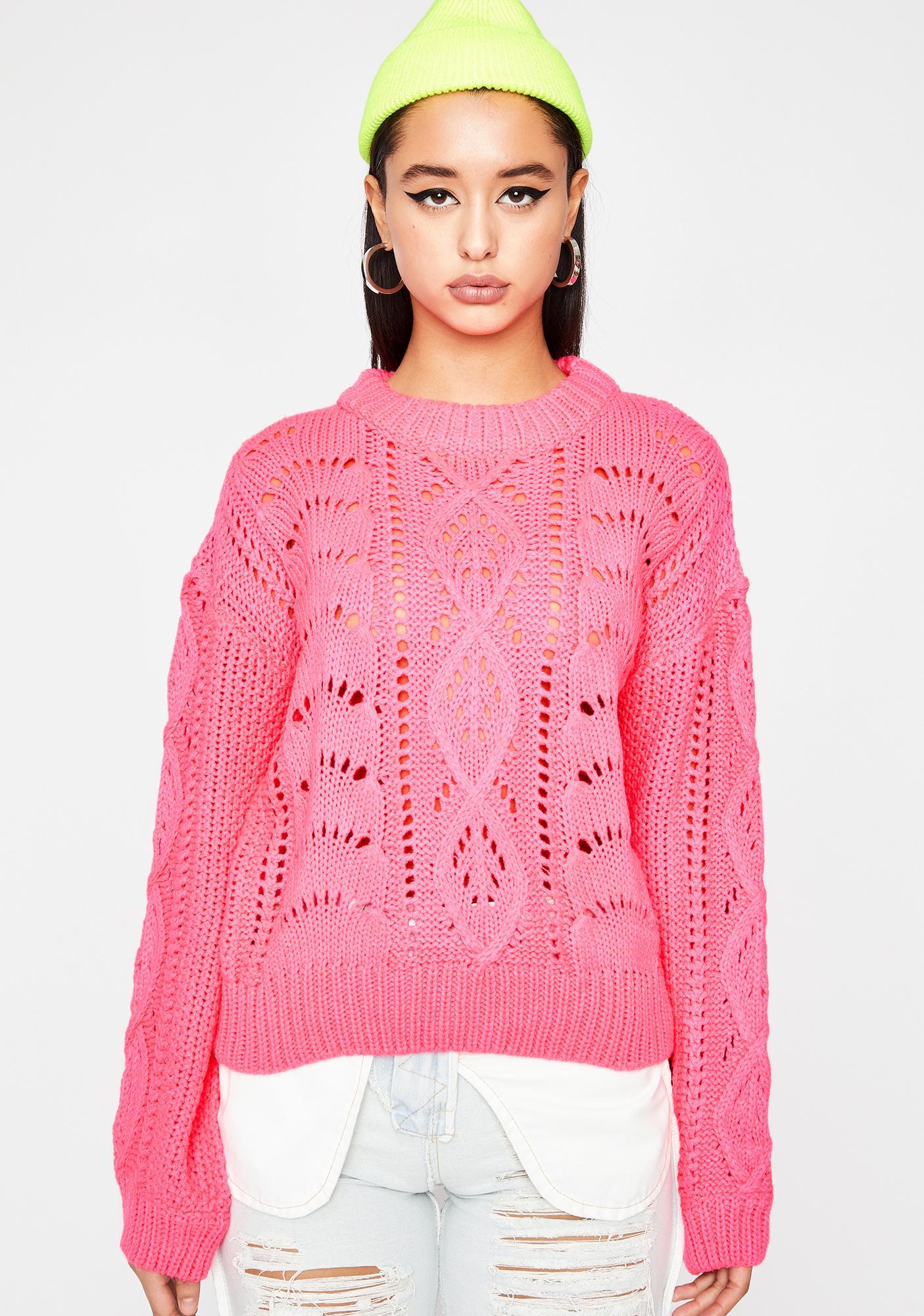 Sweet Flavor Knit Sweater
