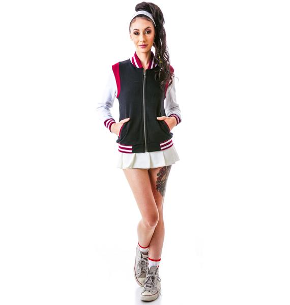 Sourpuss Clothing Varsity Omni Jacket
