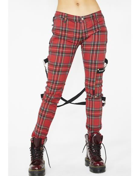 Siren Plaid Chaos Pants
