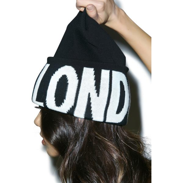 BOY London BOY Hightop Beanie