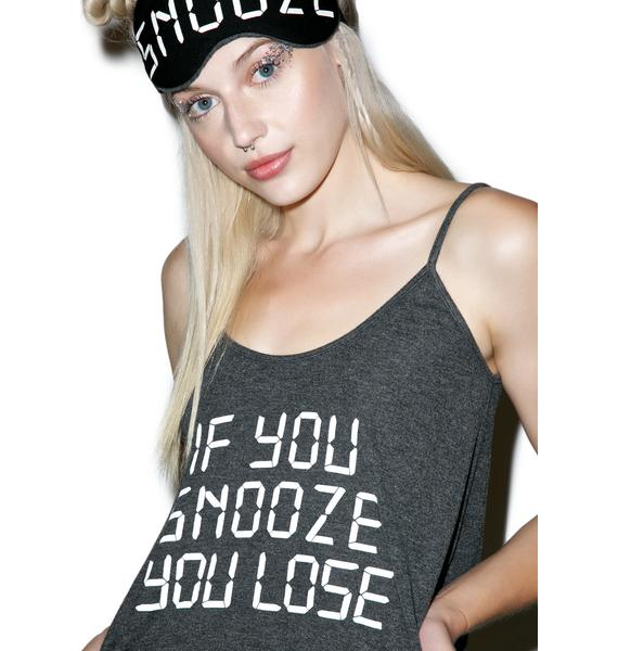 Wildfox Couture If You Snooze You Lose Sleepover Set
