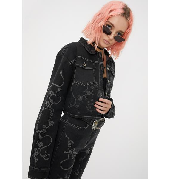 I AM GIA Lunar Denim Jacket