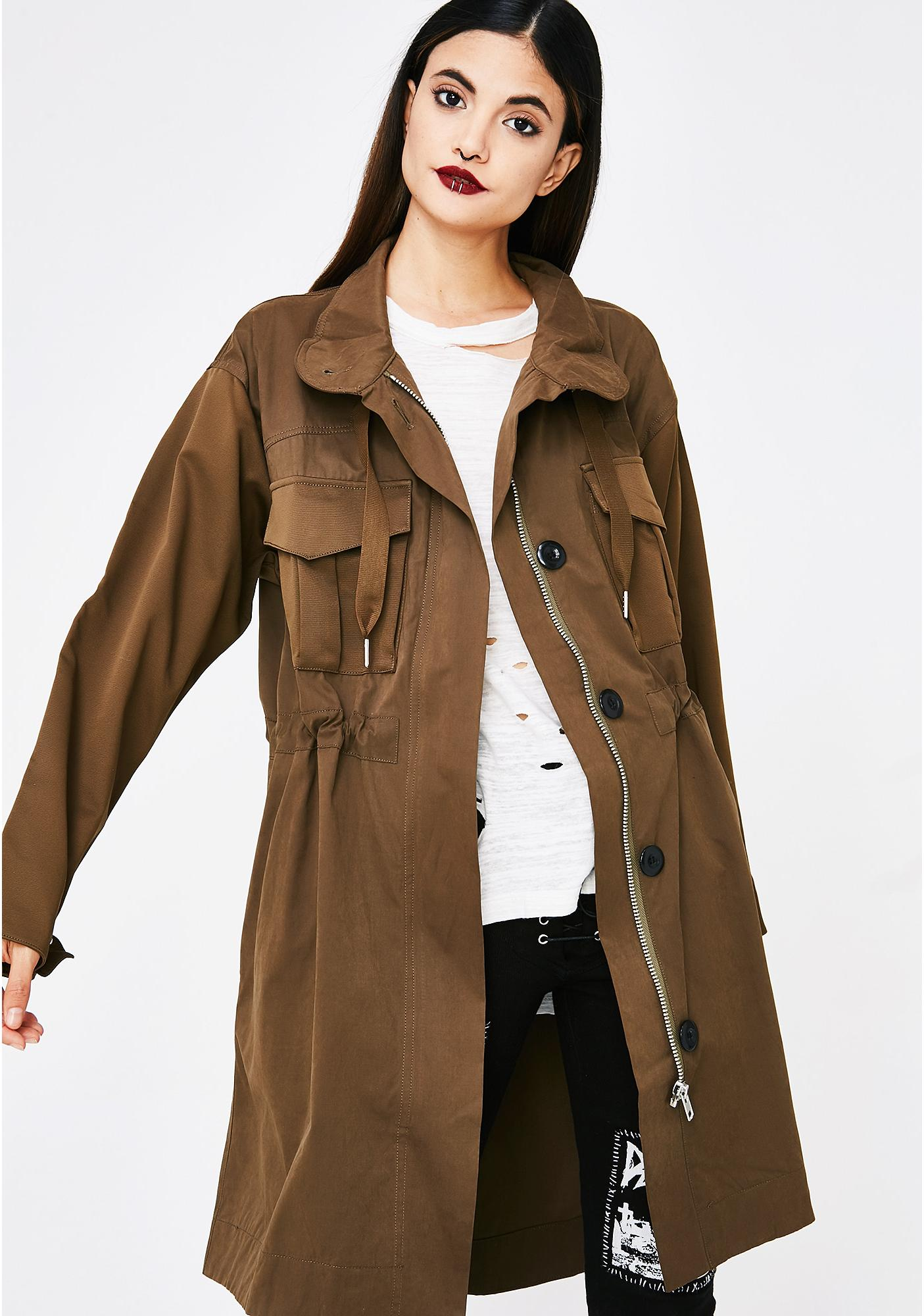 Always Ready Long Jacket