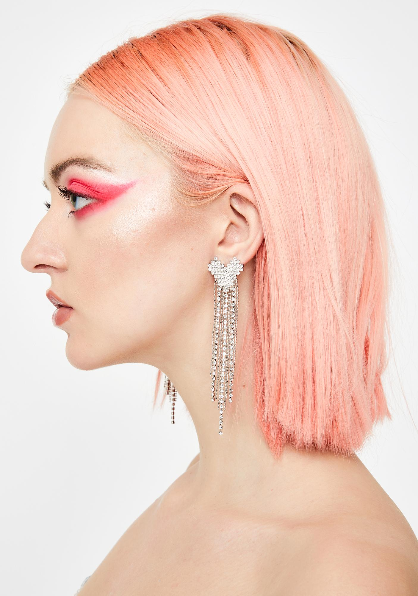 Bling It On Rhinestone Earrings