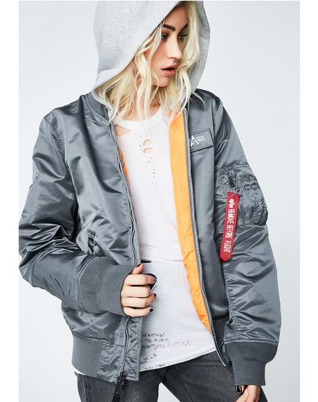 L-2B Hooded Bomber Jacket