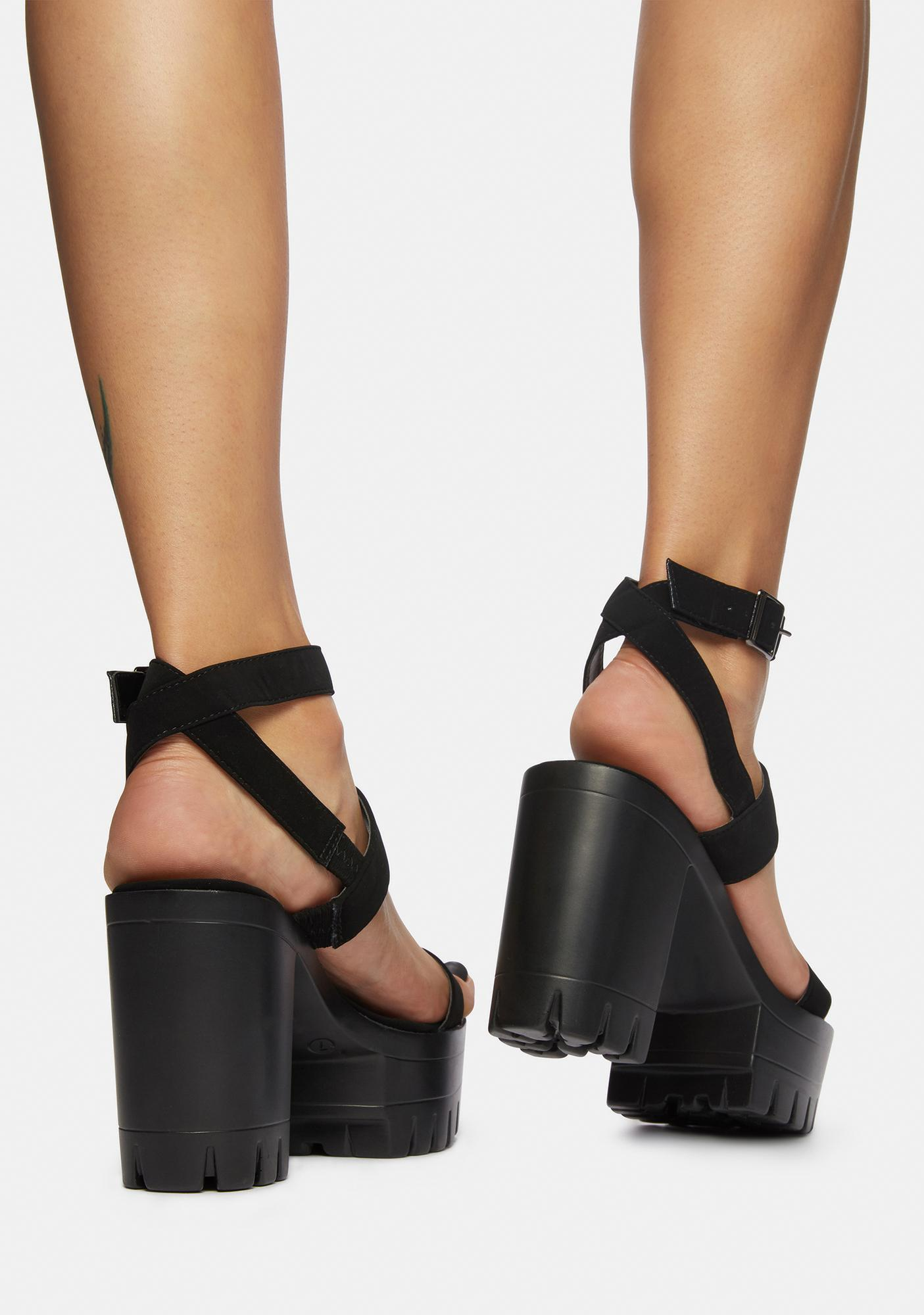 Heavenly Hotspot Platform Sandals