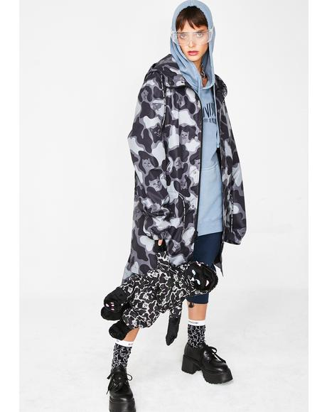 Blackout Nerm Camo Fishtail Parka