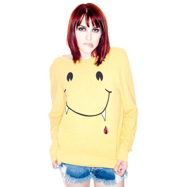 Wildfox Couture Vampire Love Baggy Beach Jumper