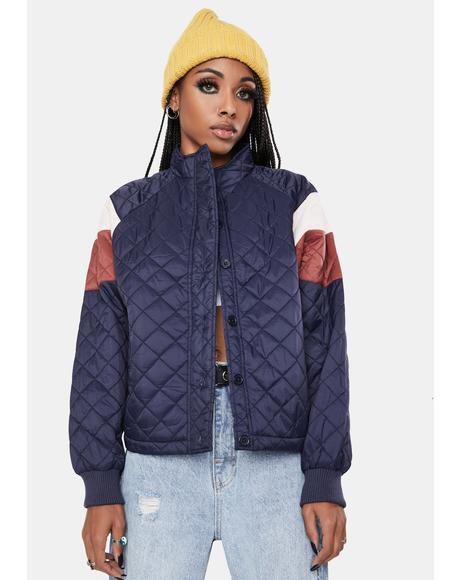 Training Day Quilted Jacket