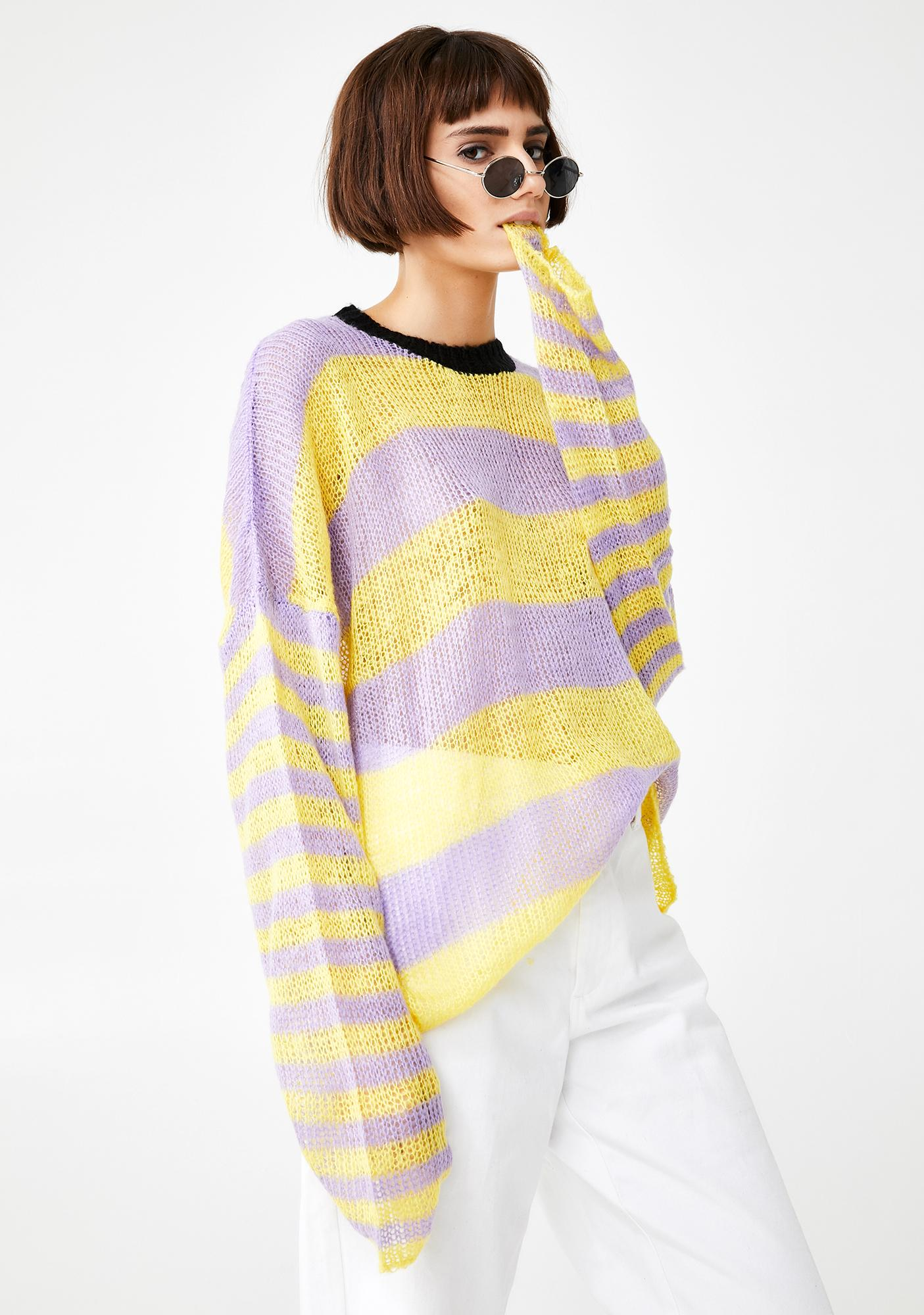 The Ragged Priest Turbo Knit Sweater