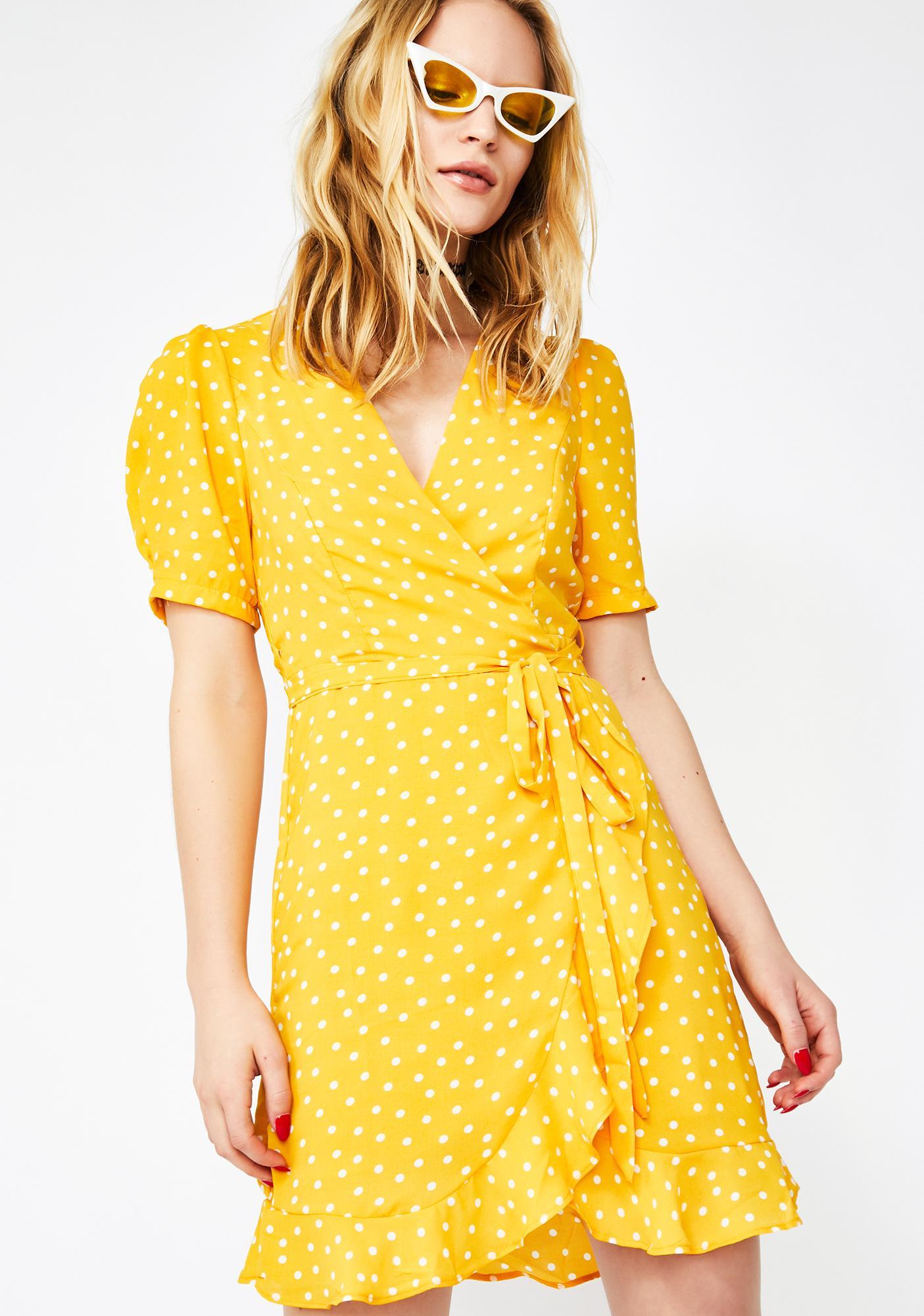 Honey Fairy Affair Wrap Dress