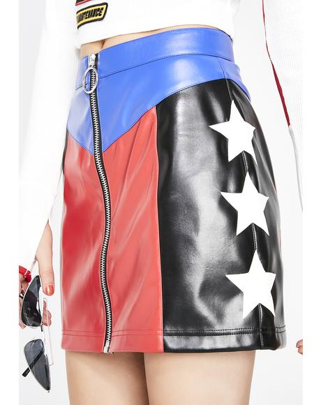 Stunt Double Star Skirt