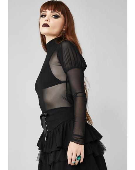 Terminally Exposed Mesh Top