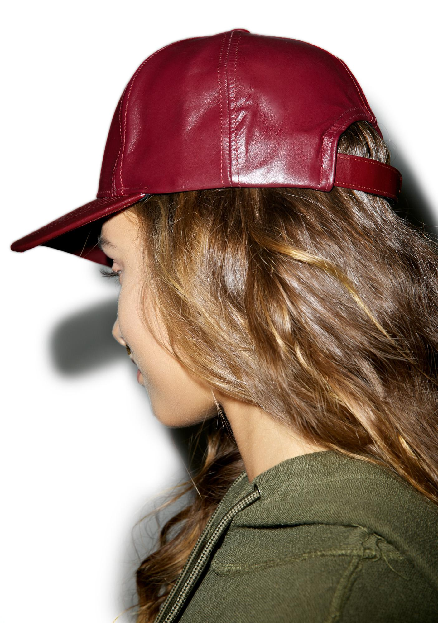 Oxblood Hat