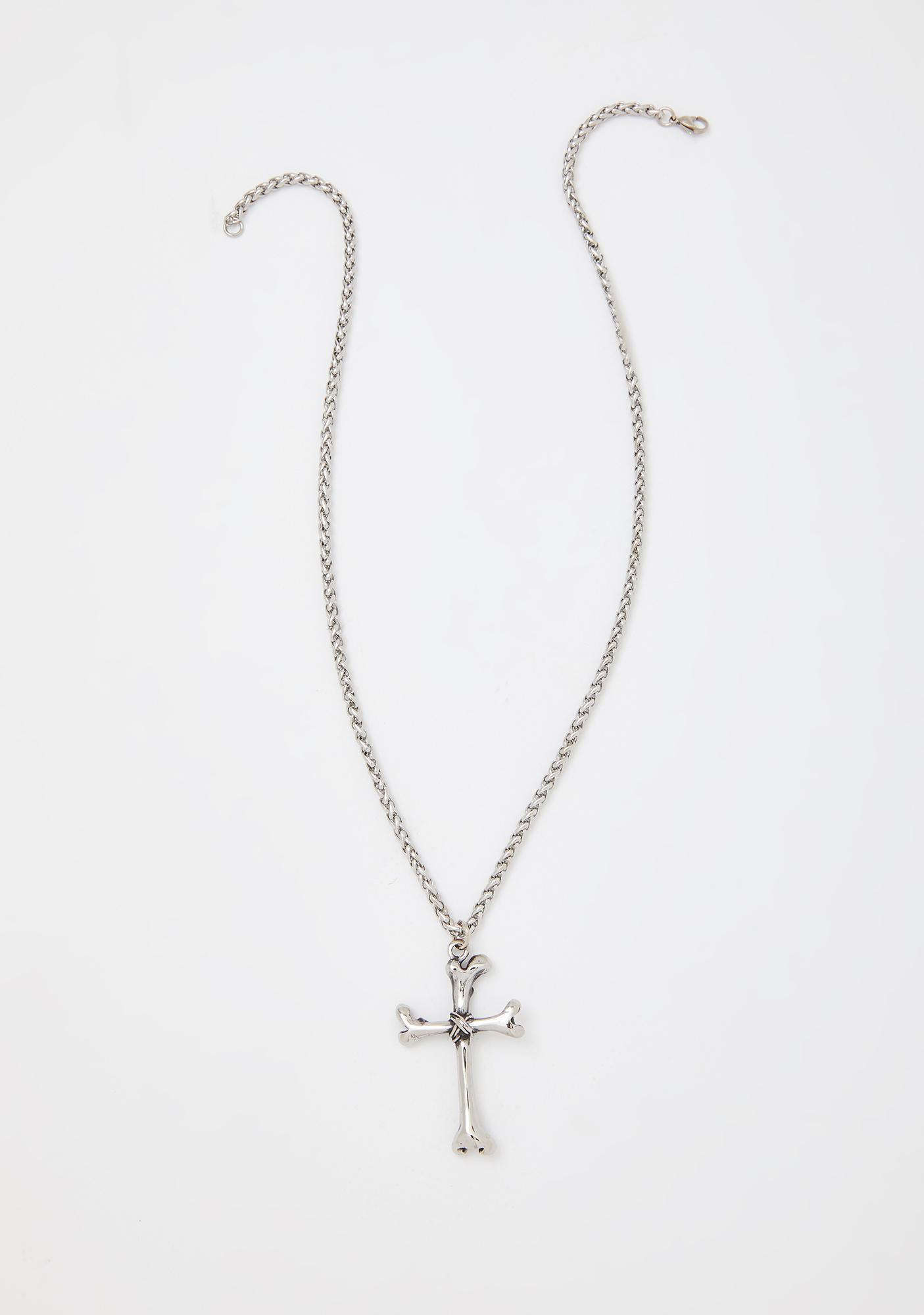 Mysticum Luna Osteomancy Bone Necklace