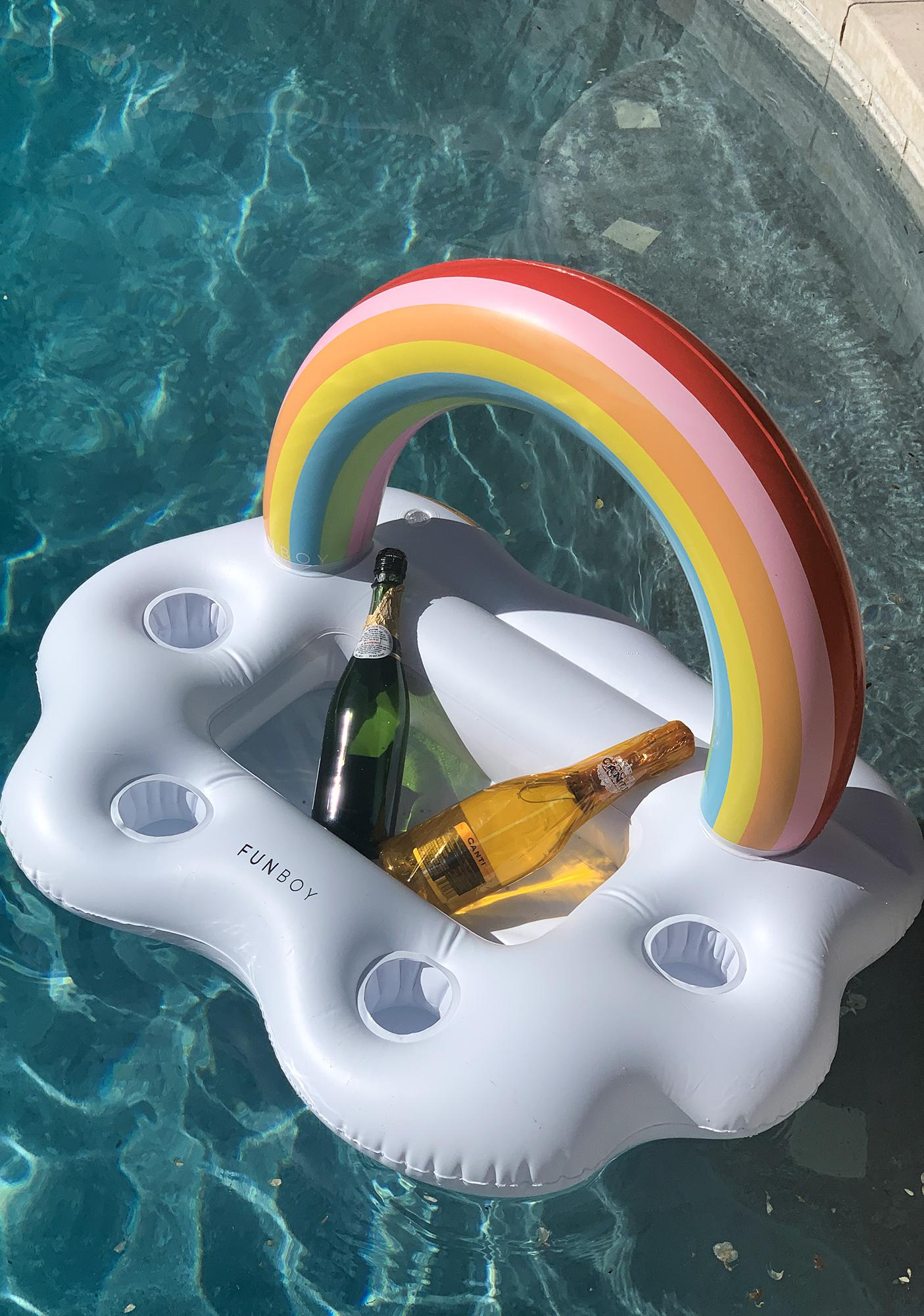 FUNBOY Rainbow Cloud Drink Holder