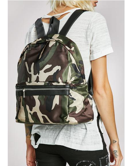 Shell Shock Camo Backpack