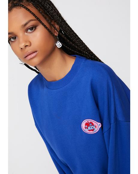 Fruit Sticker Sweatshirt
