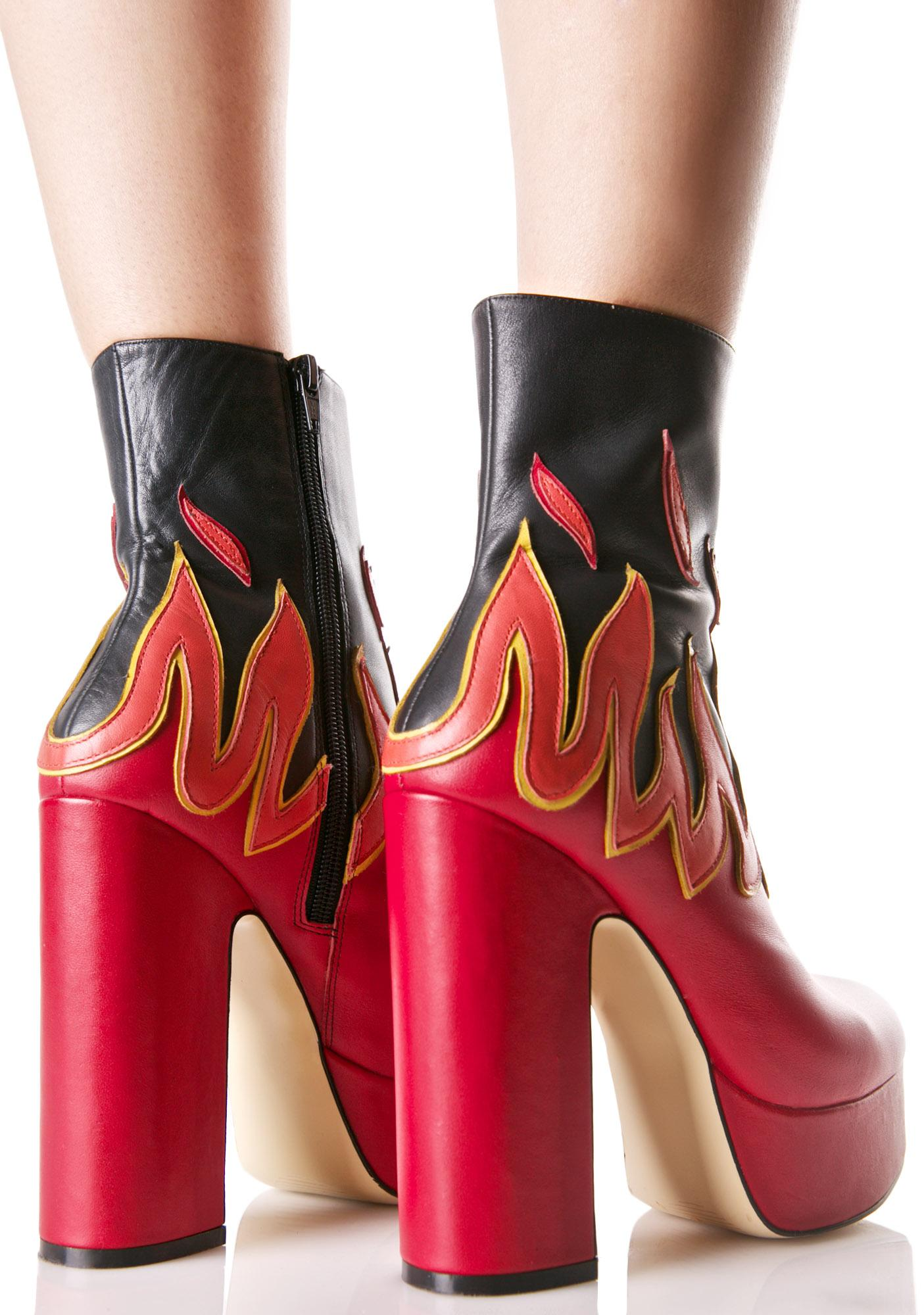 Shellys London Flame Boots