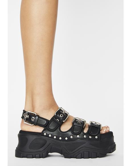 GLDR OB Platform Sandals