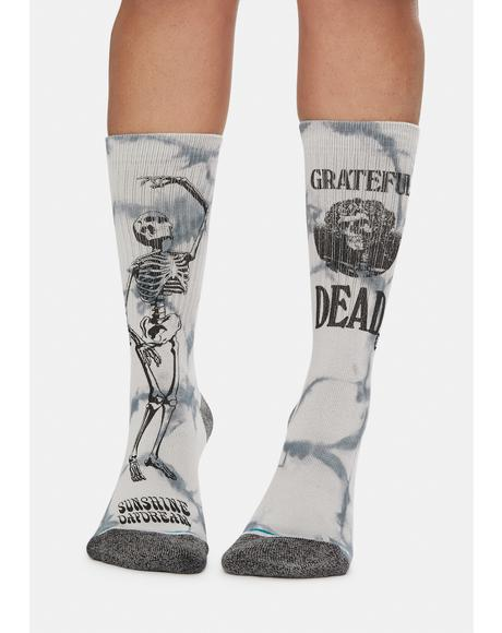 Good Ol Grateful Dead Crew Socks