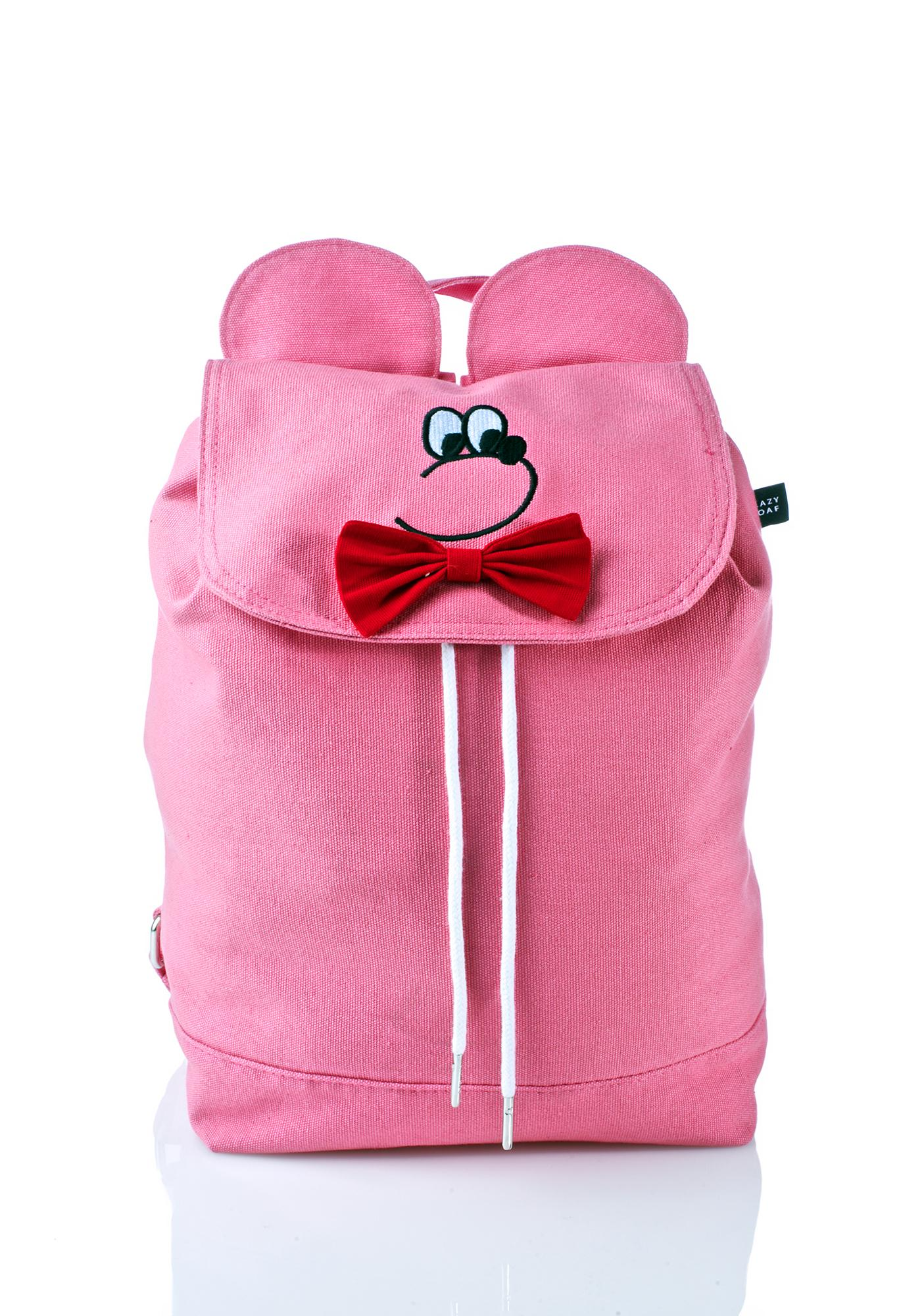 Lazy Oaf Bear Head Backpack
