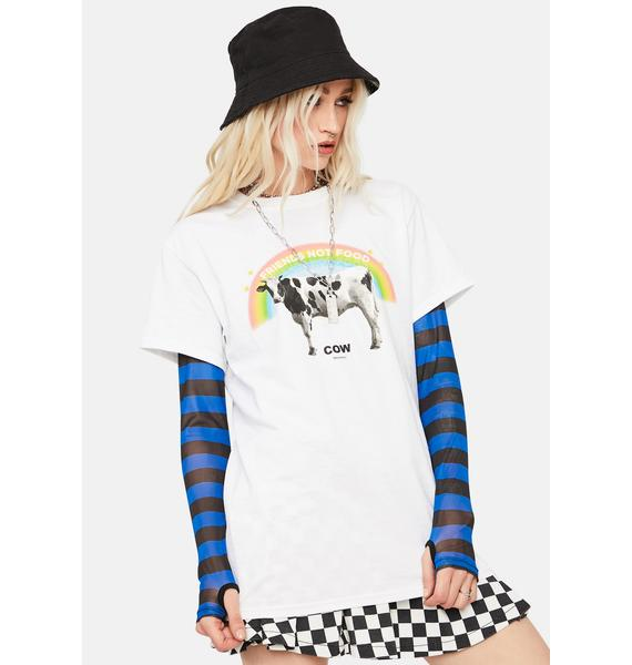 Dreamboy Friends Not Food Graphic Tee