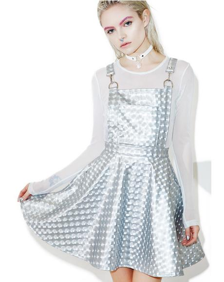 Hyperion Hologram Overall Dress