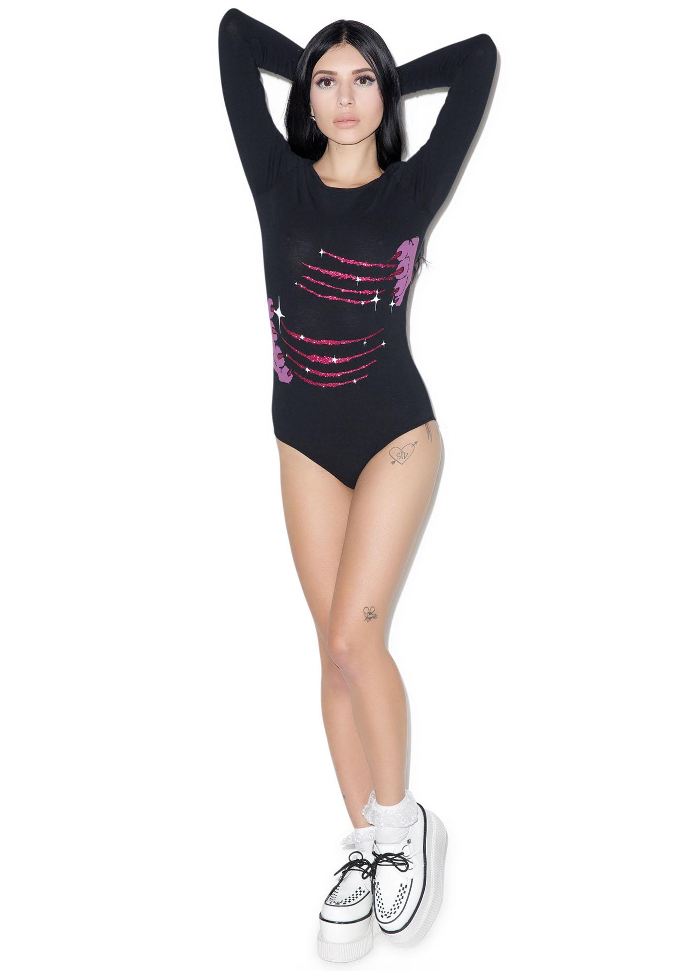 Iron Fist Scratch Post Bodysuit