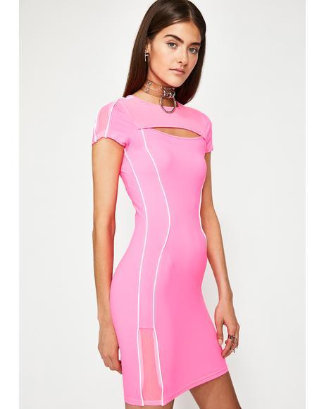 Pretty Infinite Fantasy Bodycon Dress