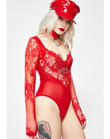 Snatched Sinner Lace Bodysuit