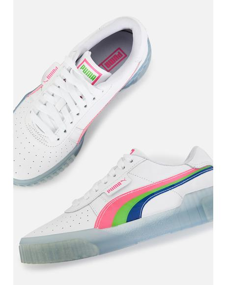 Cali Neon Iced Sneakers