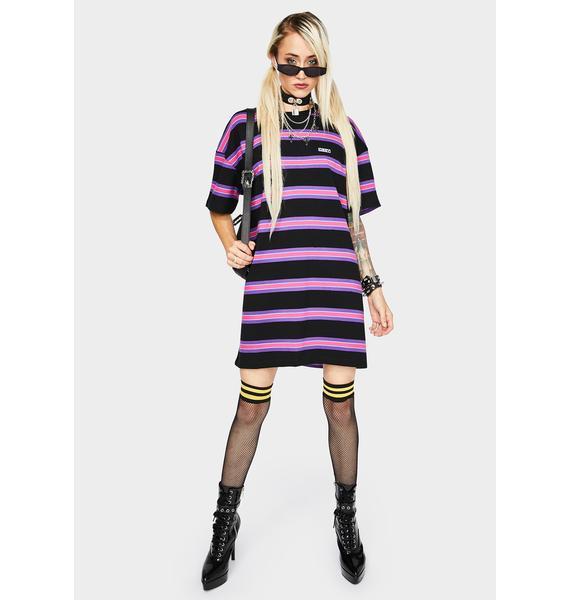 Obey Peri T-Shirt Dress