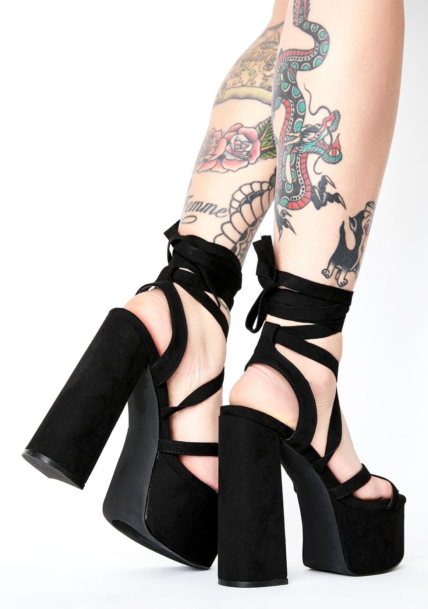My Strange Addiction Platform Heels