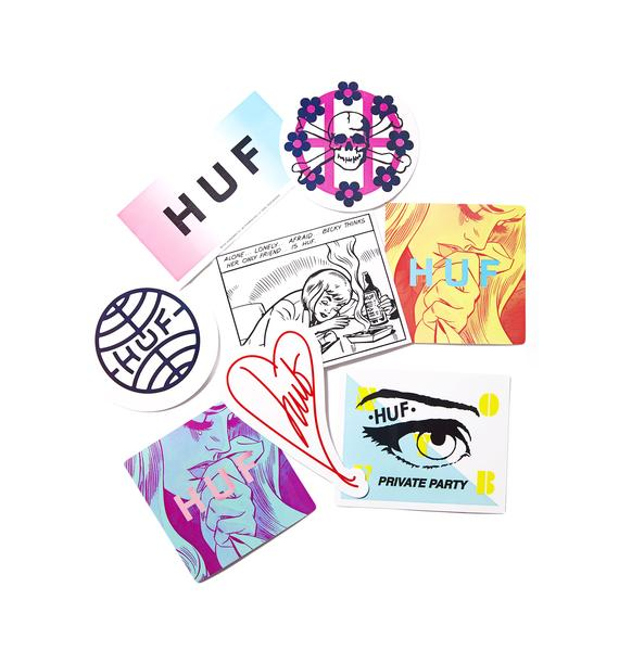 HUF Seasonal Sticker Pack